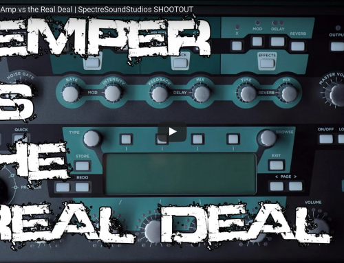 Kemper vs the REAL DEAL