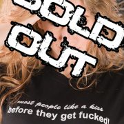 most people Sold Out